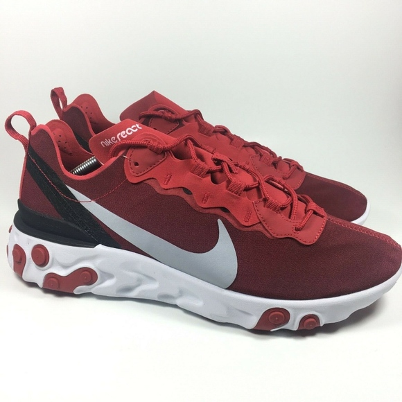 nike react element 55 gym red